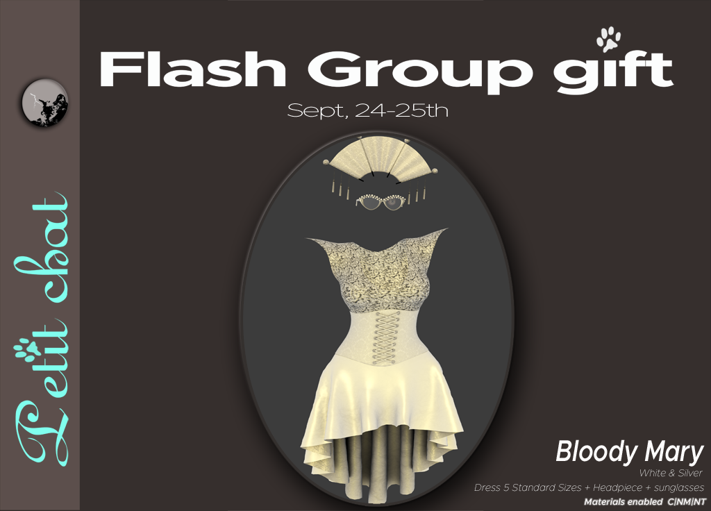 Bloody Mary : our new flash groupgift graphic
