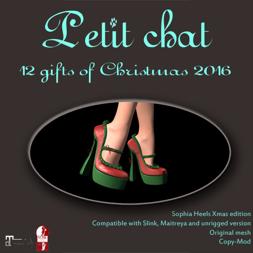 GETTING READY FOR THE PARTY (THE 12 CHRISTMAS GIFTS OF PETIT CHAT -9) graphic