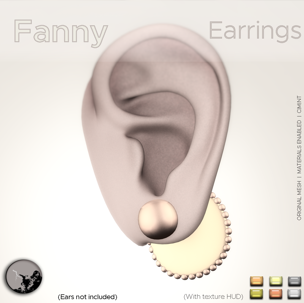 Fanny Earrings @ the Hidden Chapter …Now ! graphic