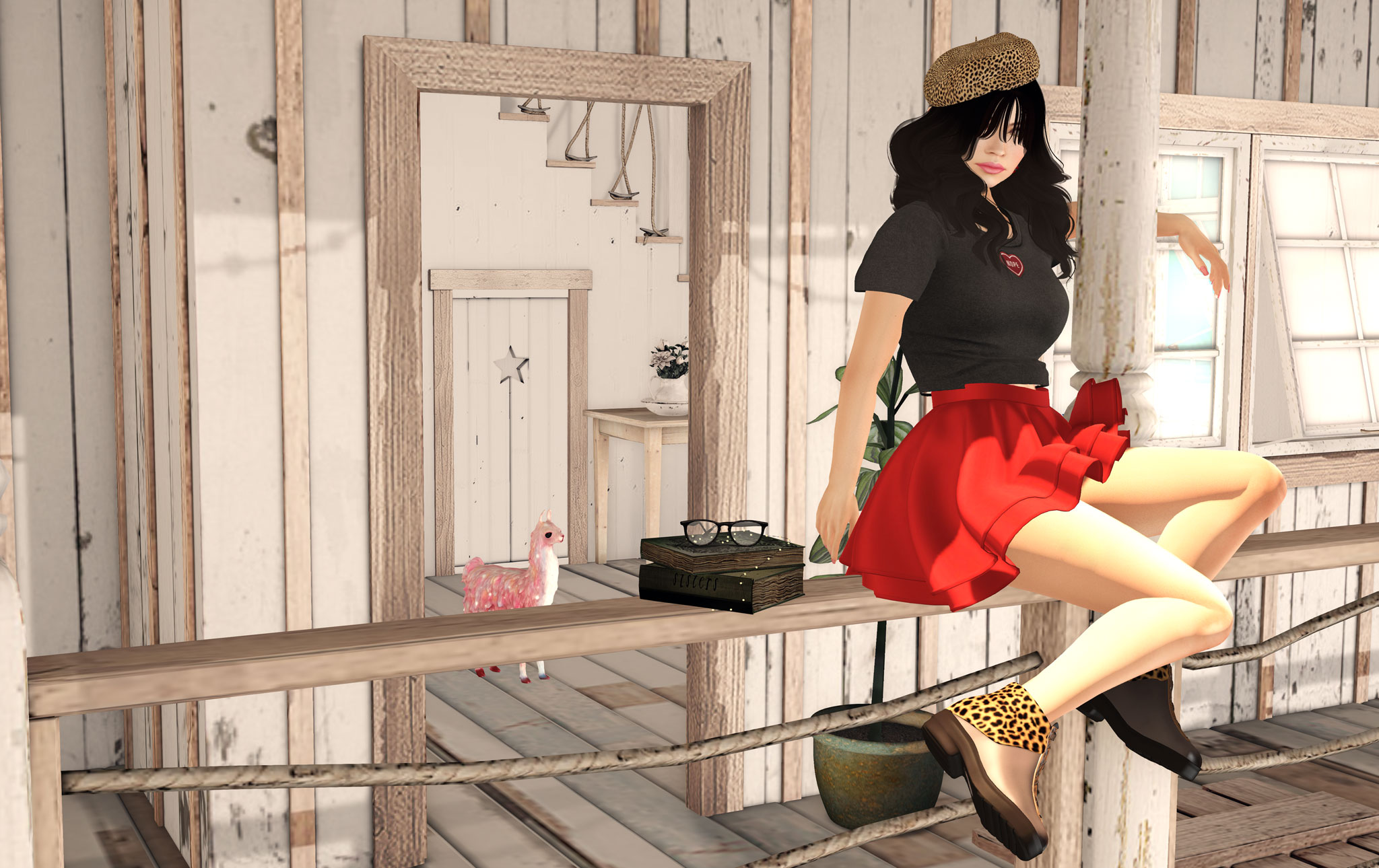 Enjoying the first rays of sunshine…2 new releases : french berets and ankle boots ! graphic
