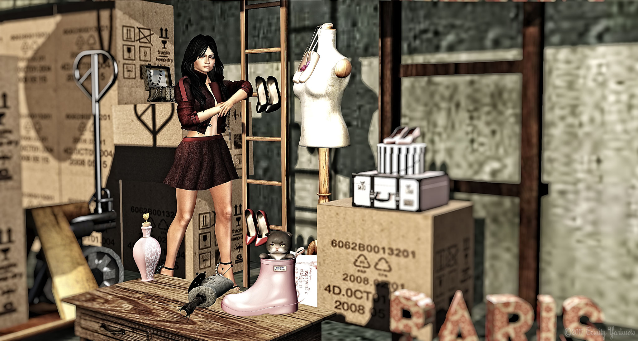 My inventory is a mess – New flash groupgift : Precious Denim graphic