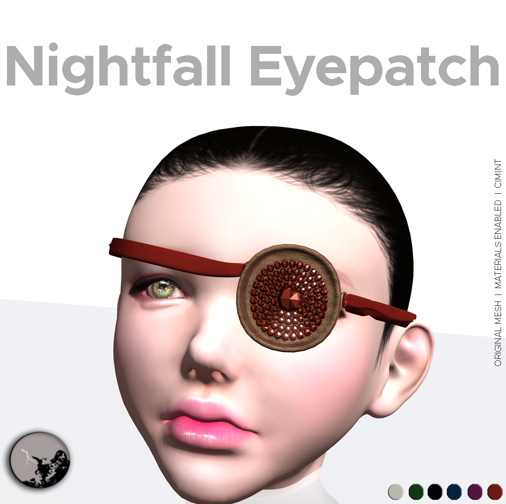 Nightfall Eyepatches @ Scala Yin Yang event graphic