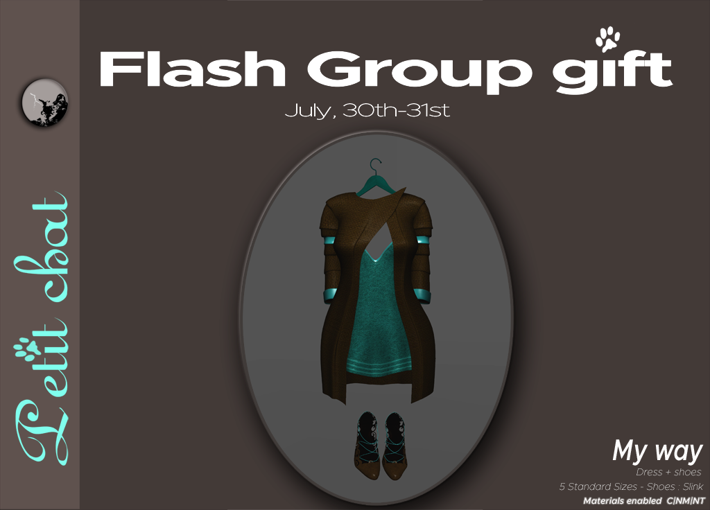 My way outfit and shoes : our weekly Flash groupgift : graphic