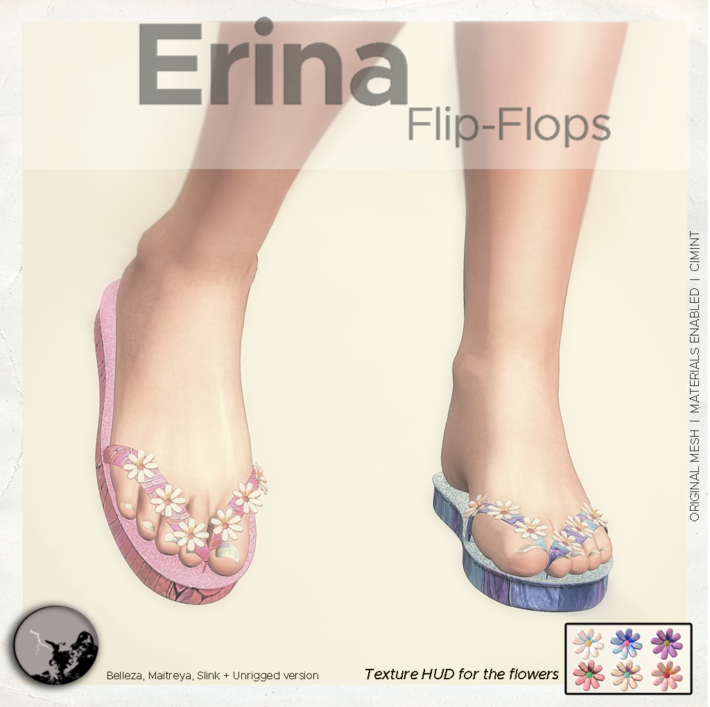 Erina Flip-flops @ The Chapter Four graphic