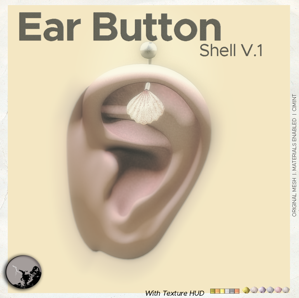 Ear button piercings @ the Chapter Four July graphic