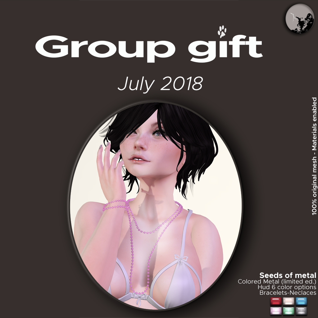 July groupgift : Seeds of Metal (colored metal ed.) graphic