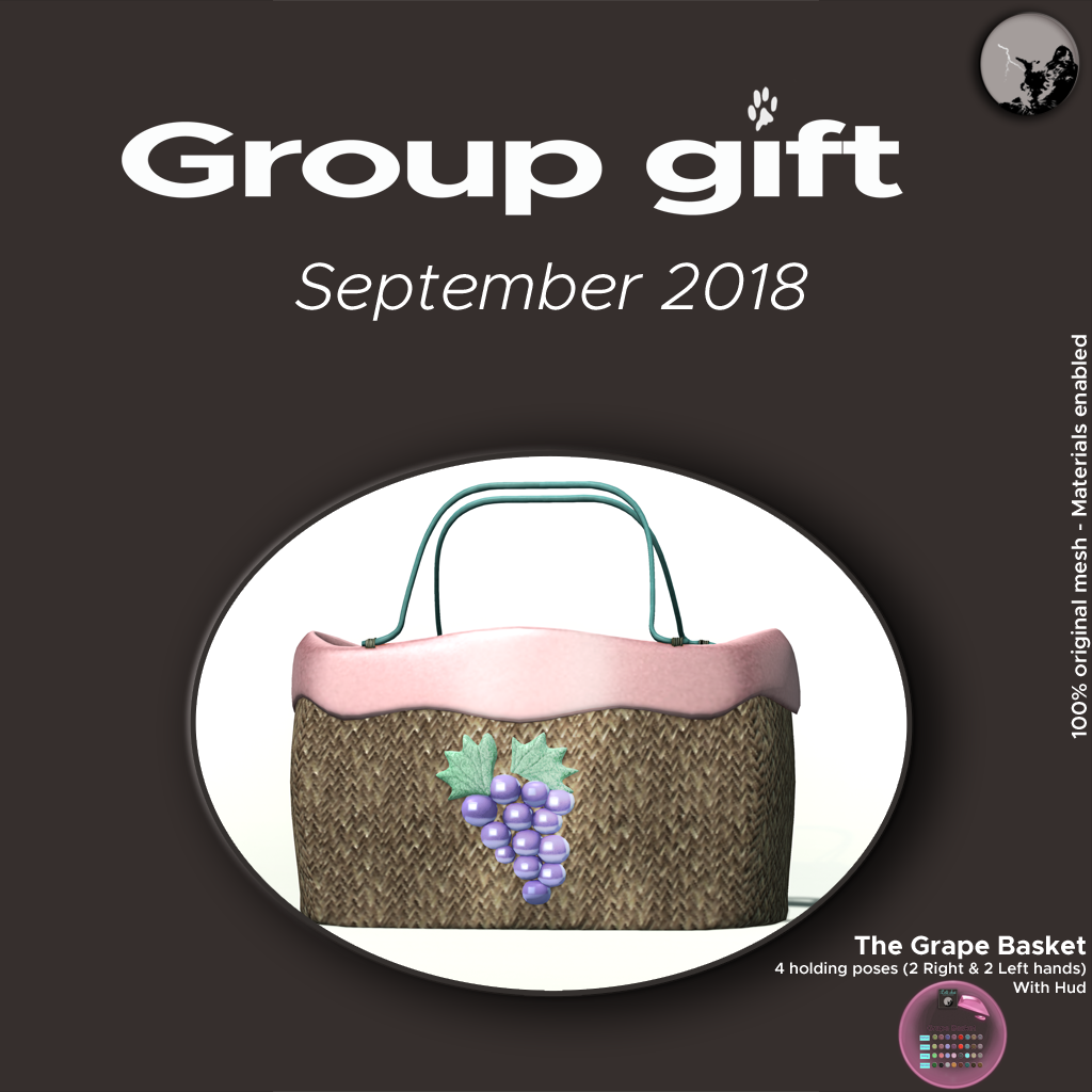 SEPTEMBER GROUPGIFT IS HERE ! graphic