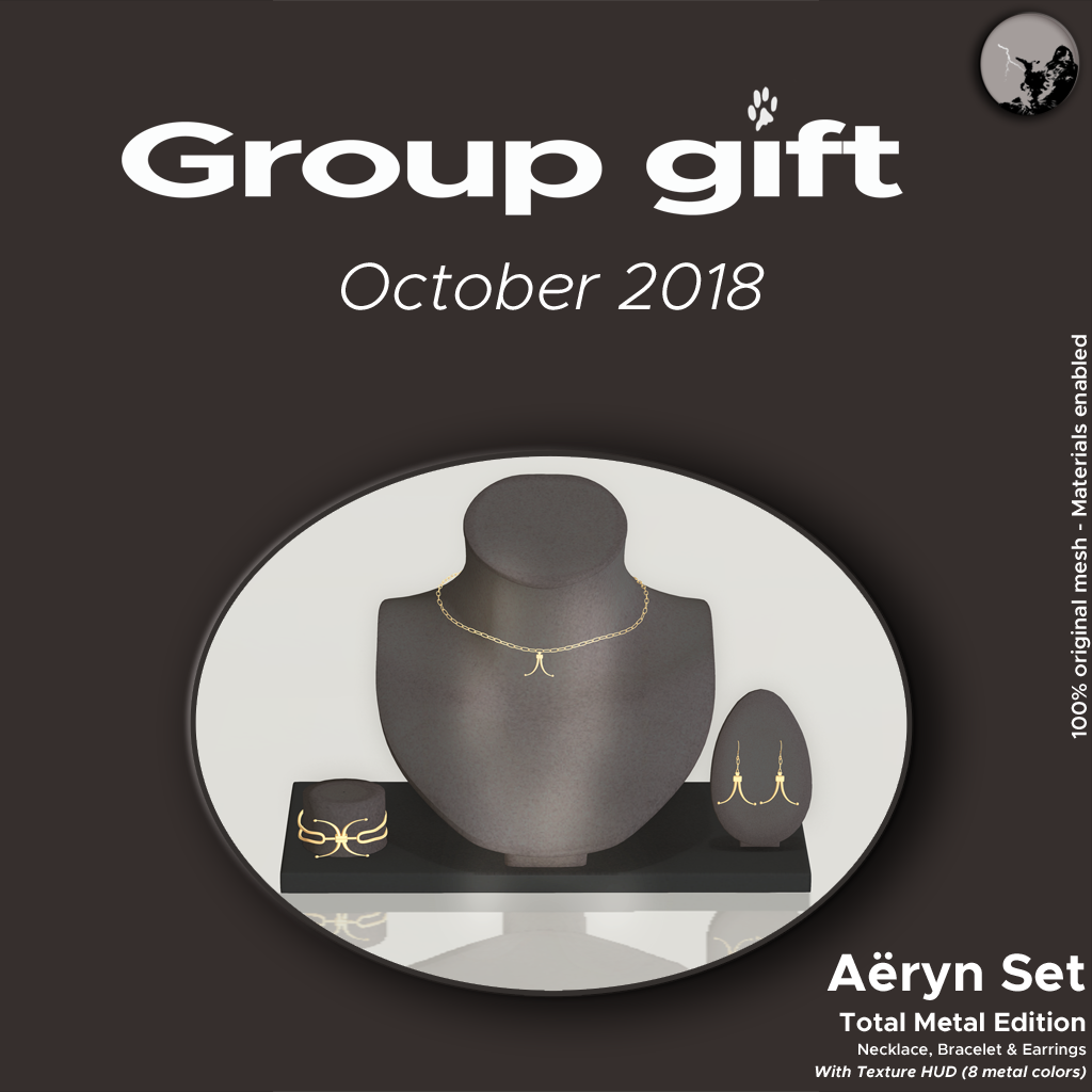 OCTOBER GROUPGIFT IS HERE ! graphic