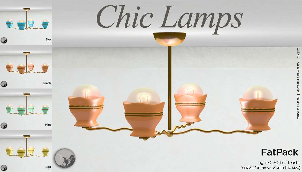 Chic Lamps @ The Boardwalk Event graphic