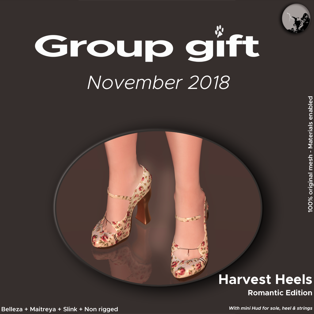 Groupgift for November : Harvest Heels Romantic Ed. graphic