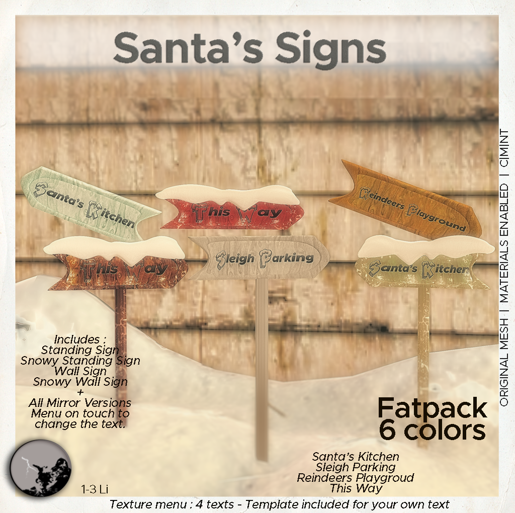 Help Santa to find his way !!! Santa's Signs @ TSA graphic