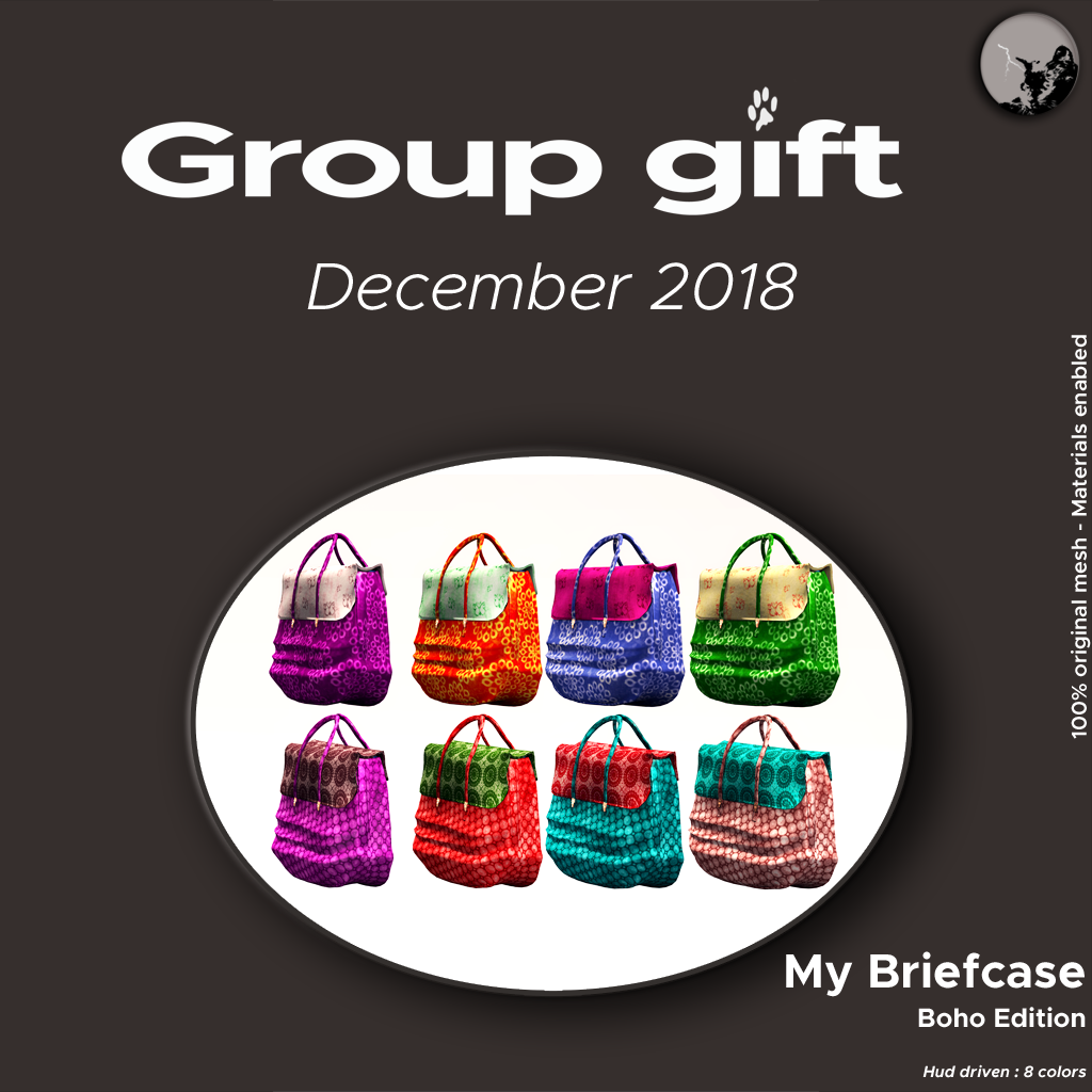 December GroupGift : My Boho Briefcase graphic