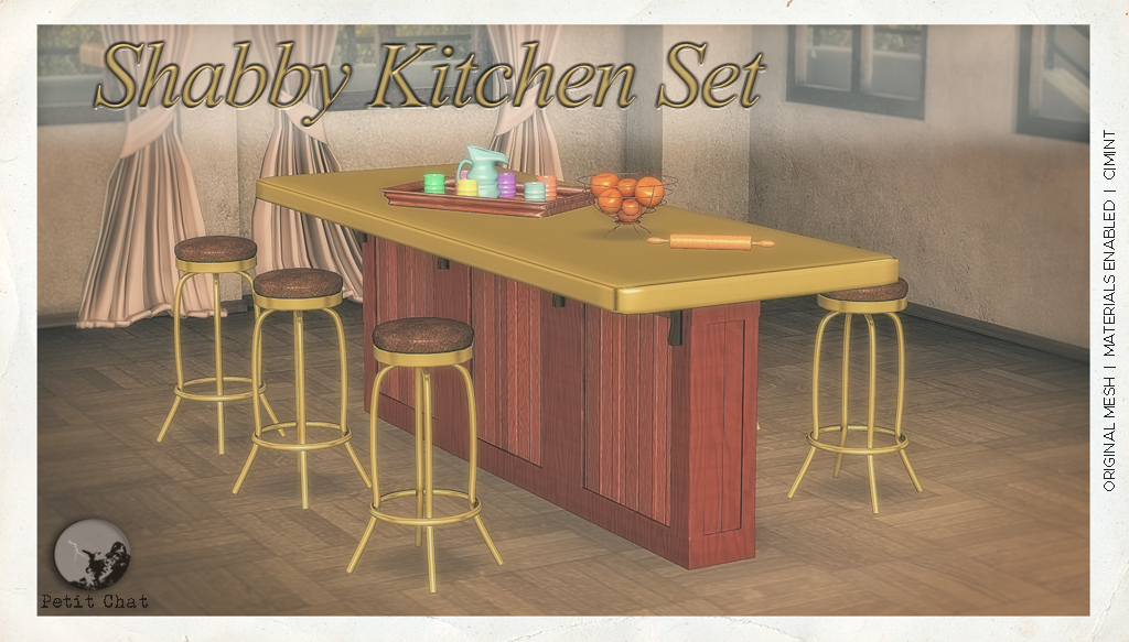 Shabby Kitchen Set @ TCF graphic