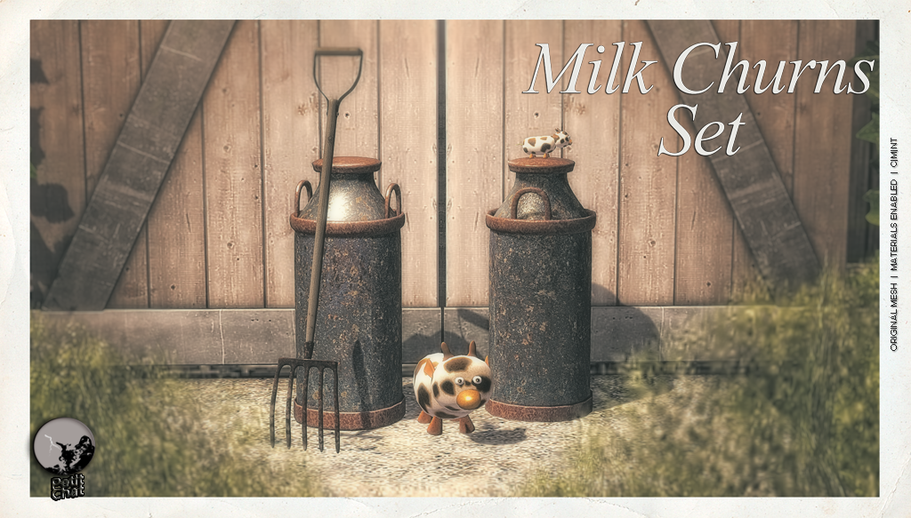 Milk Churns Set @ The Boardwalk Event graphic