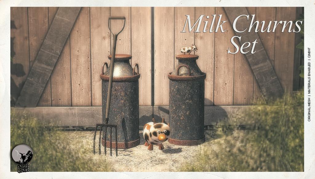 Milk Churns Set @ The Boardwalk Event graphic