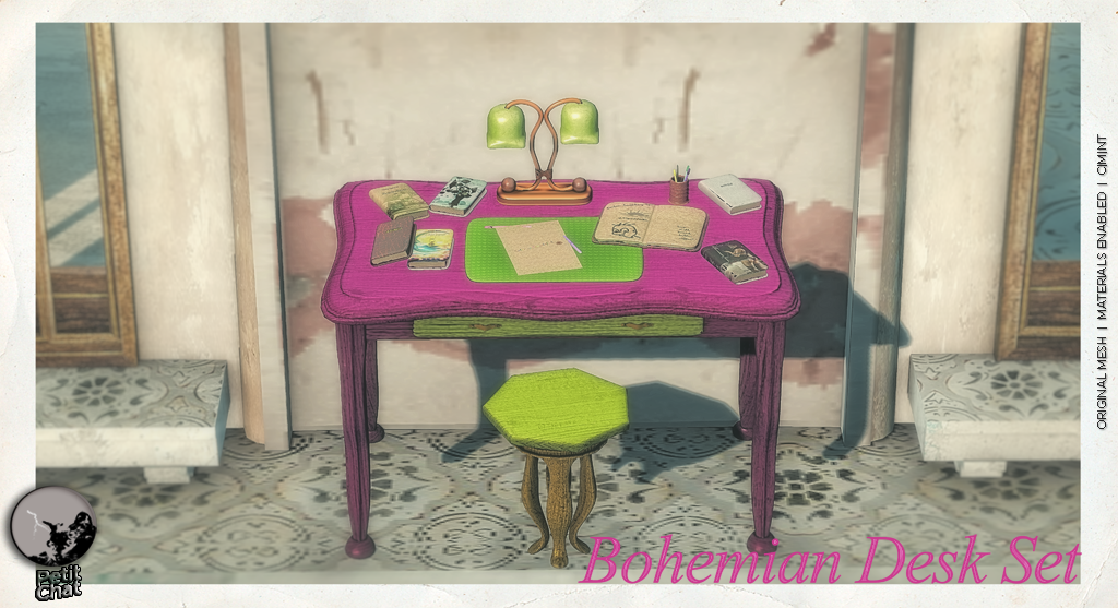 The Bohemian Desk Set @SLB16 shopping event graphic