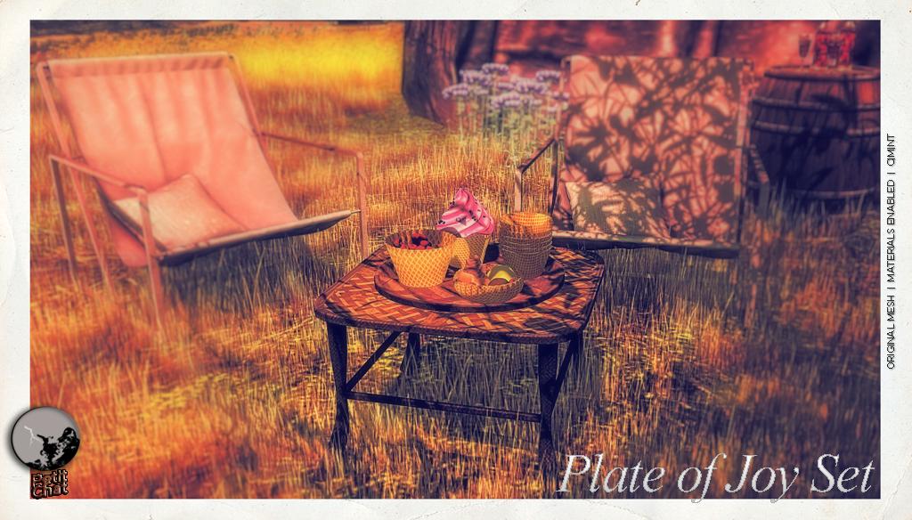 Plate of Joy set @ A la mode Cart Sale & Hunt graphic