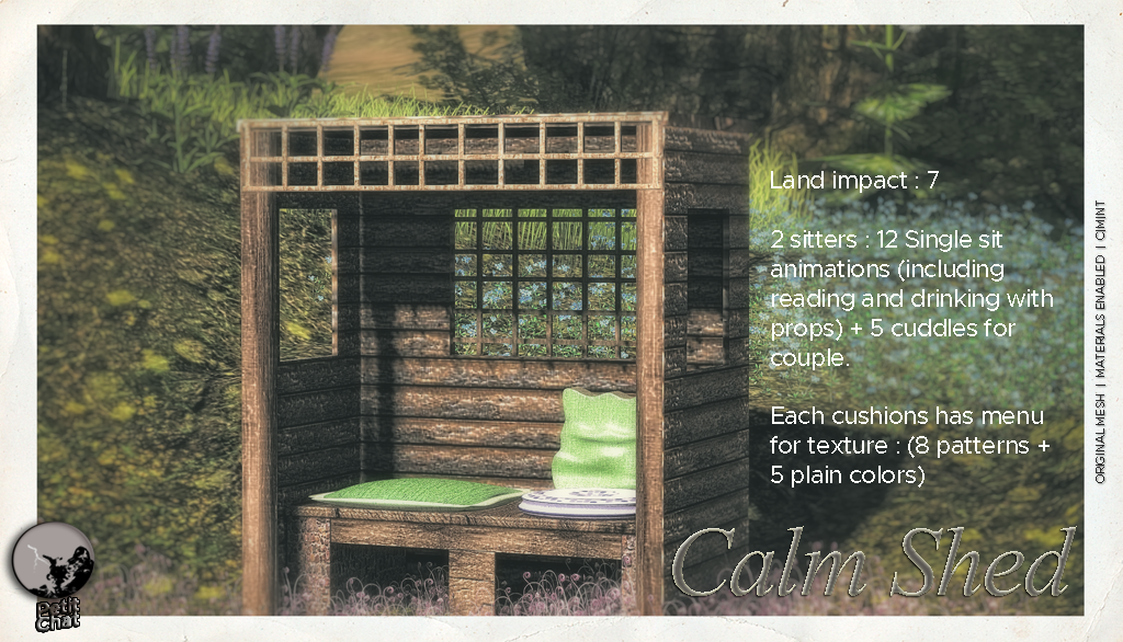 The Calm Shed @ The Black Friday Bazaar graphic