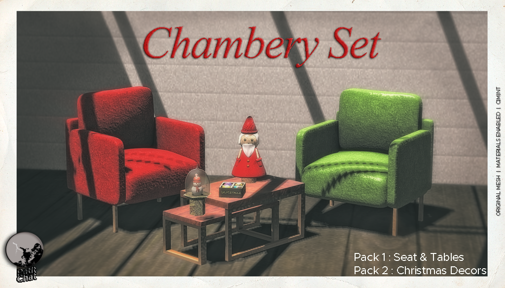 The Chambery Set @ I ♥ The Cart event graphic