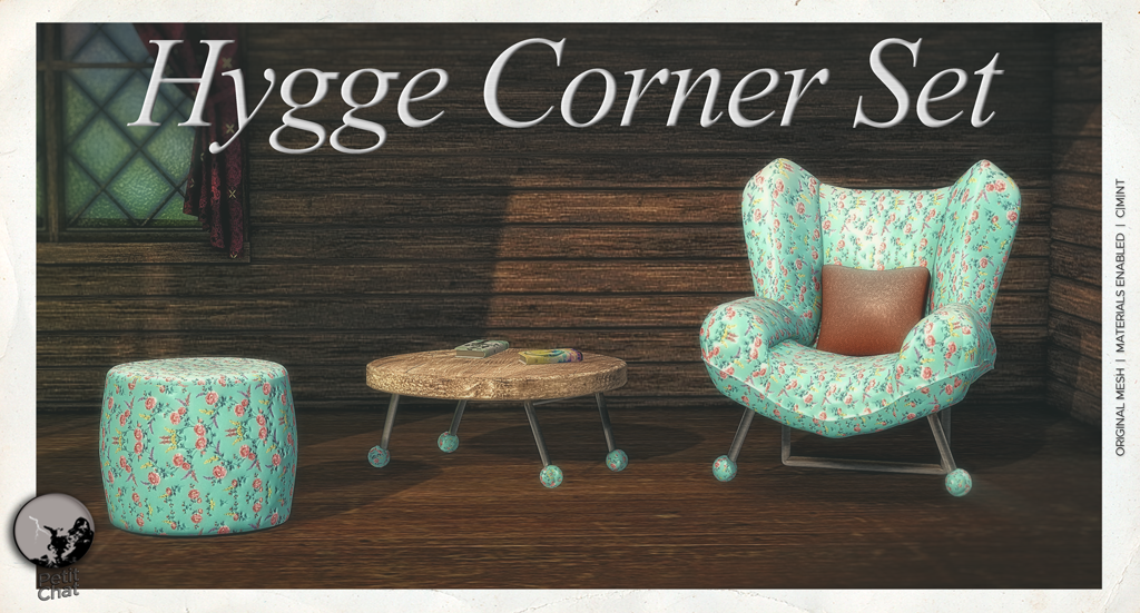 New release : Hygge Corner Set graphic