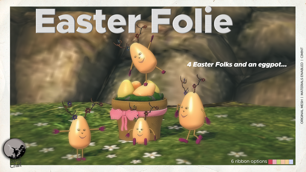 New release : Easter Folie ! graphic
