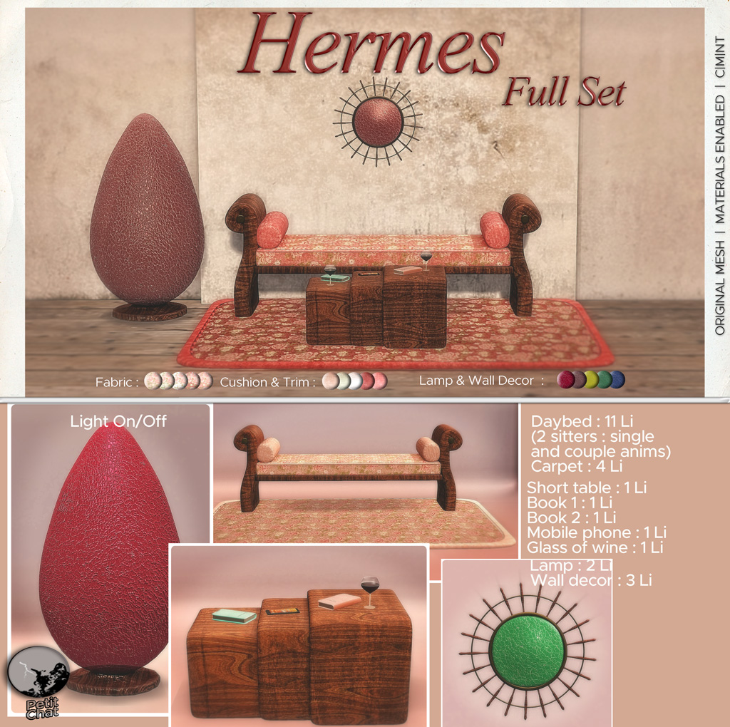 Hermes Set : New release graphic