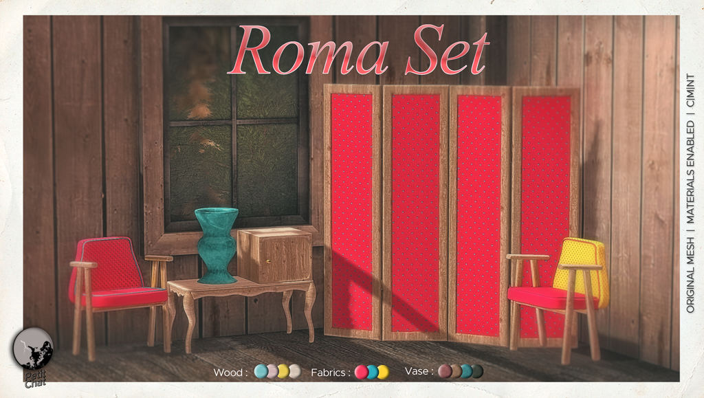 Roma Set : New release graphic