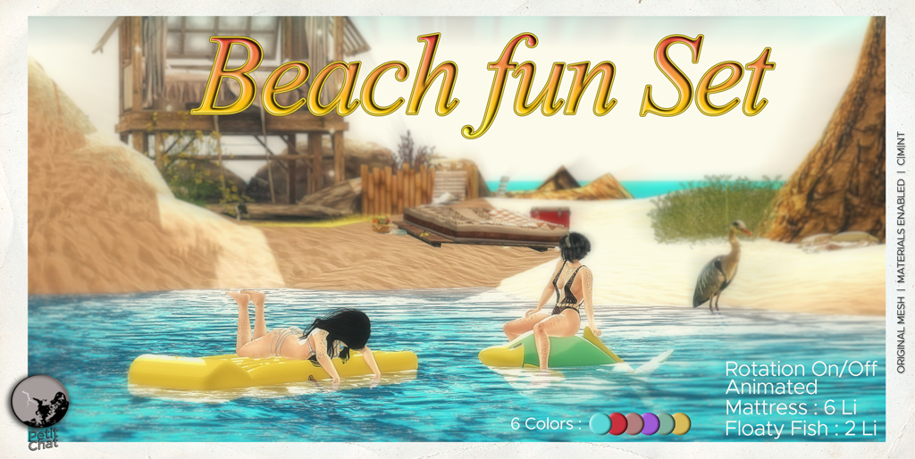 New release : Have some Beach Fun ! graphic