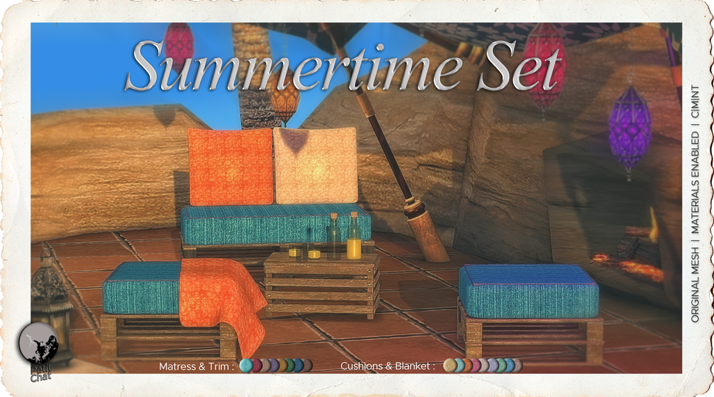 New release : Summertime Set graphic