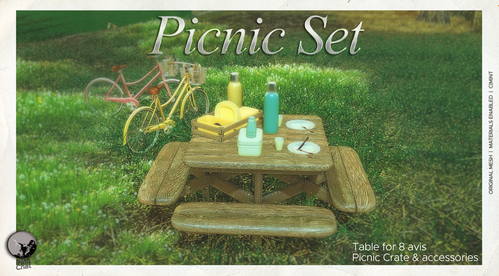 NEW RELEASE : PICNIC SET ! graphic