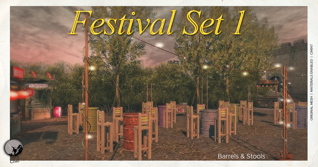 NEW RELEASE : Festival Set (1) graphic