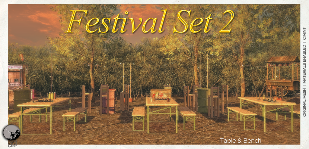 NEW RELEASE : FESTIVAL SET 2 graphic