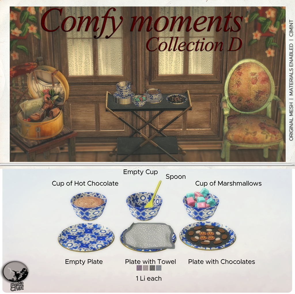Comfy Moments : New Release graphic