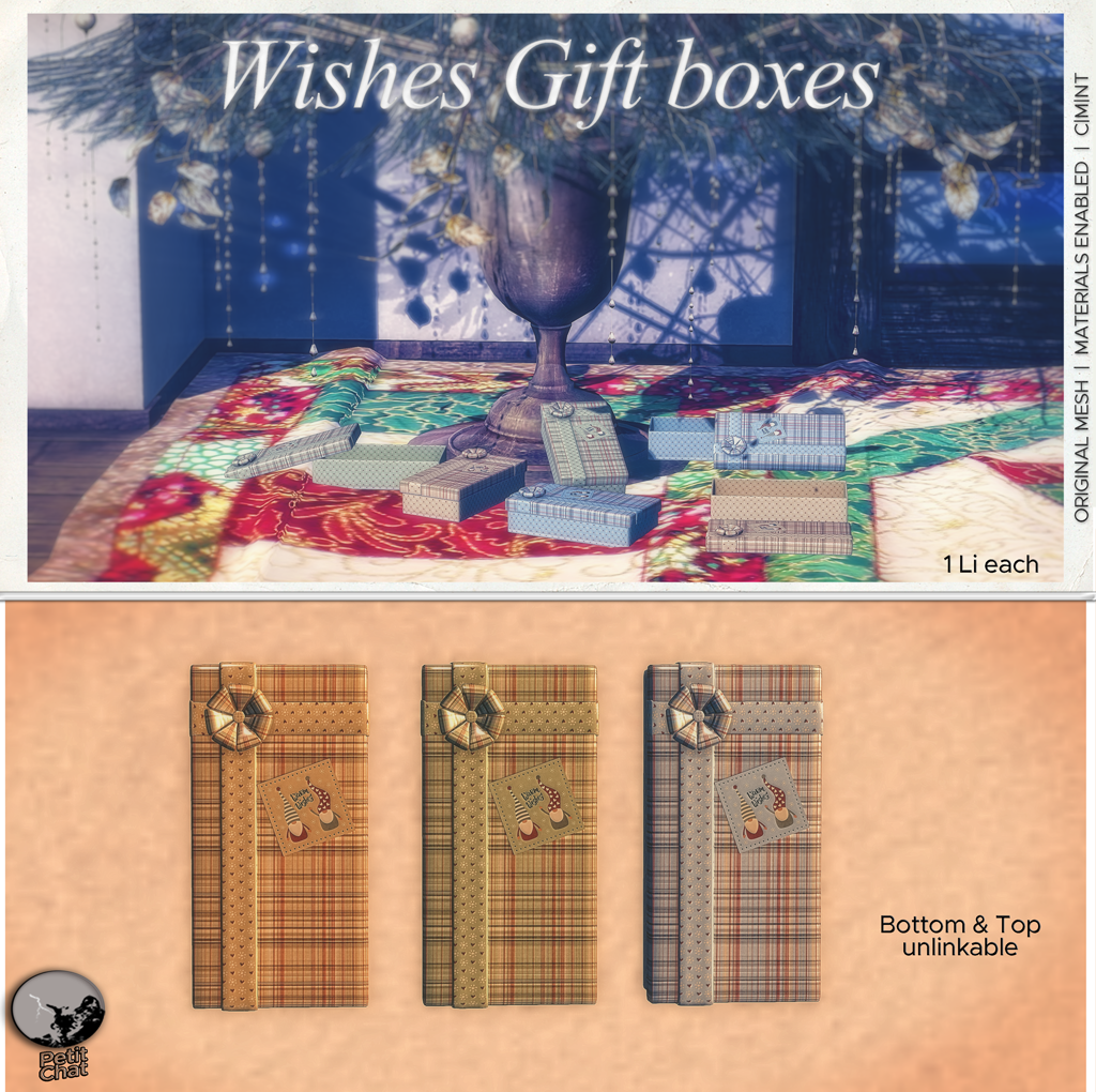 Wishes Gift Boxes : New release @ Secret Sale Sundays ! graphic