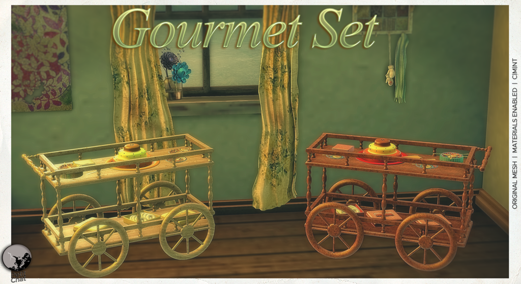 Gourmet Set : our new release this week. graphic