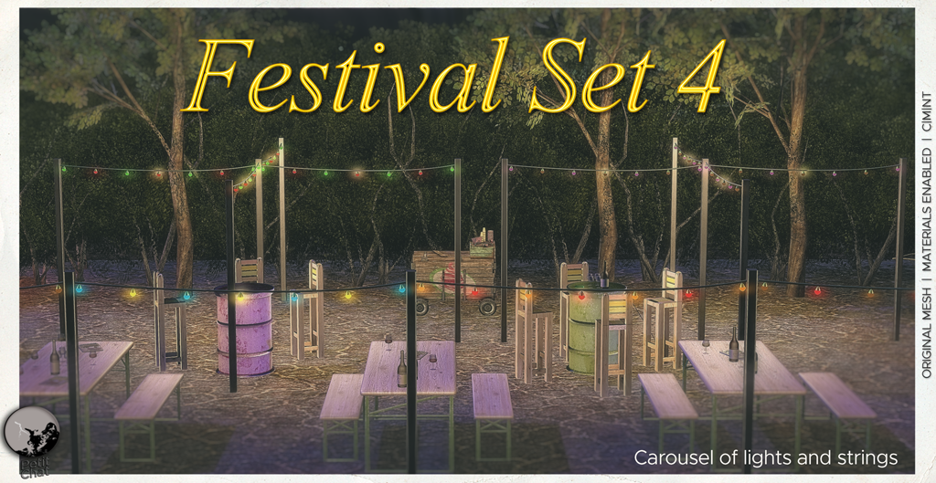 Festival Set 4 : Carousel of lights, new release graphic