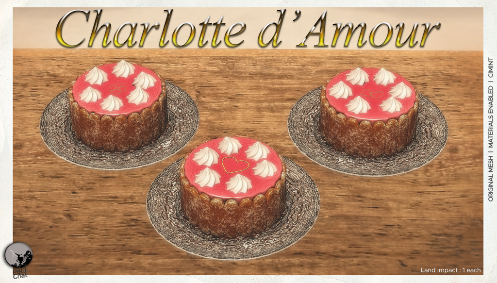 Charlotte d'Amour : exclusive group gift for February ! graphic