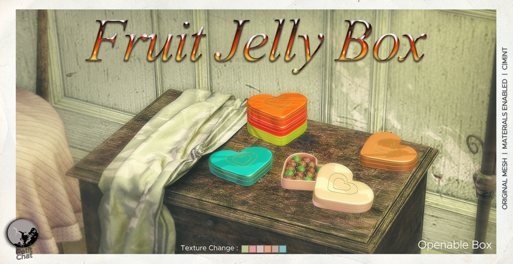 Fruit Jelly Box : an exclusive gift for Shop & Hop Event graphic