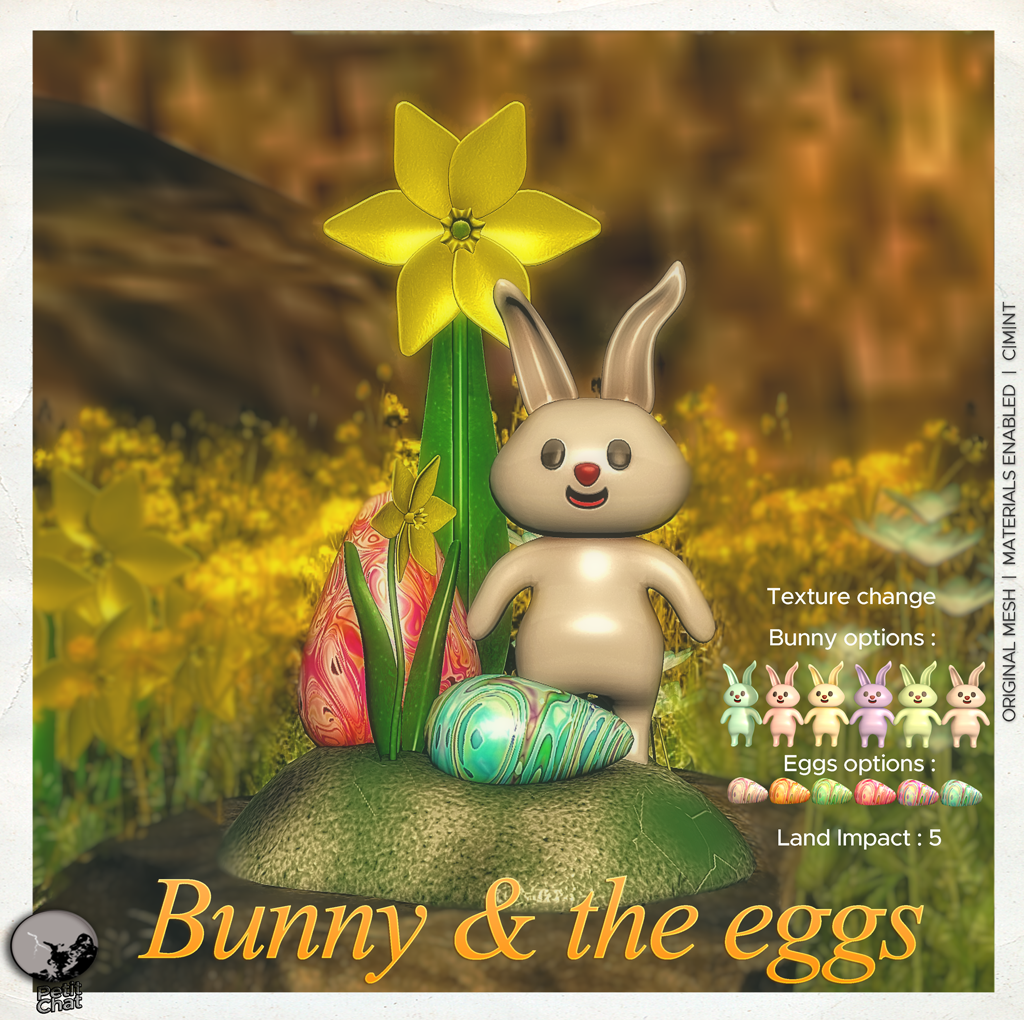 Bunny & the Eggs : New release @ Petit Chat ! graphic