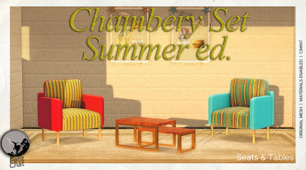 Chambery Set Summer ed. : new group gift for May ! graphic