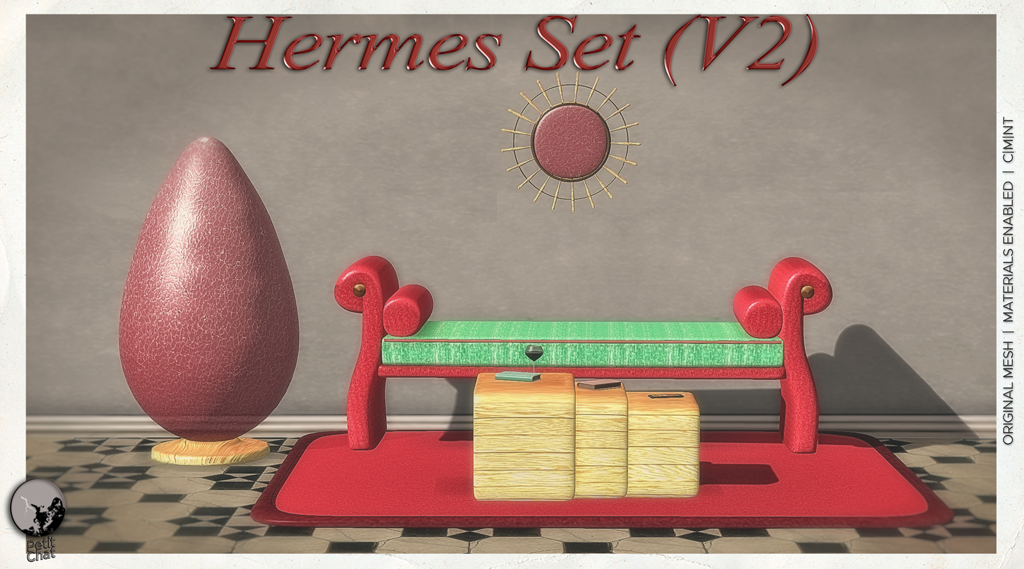 Hermes V2 : New release @ Petit Chat graphic