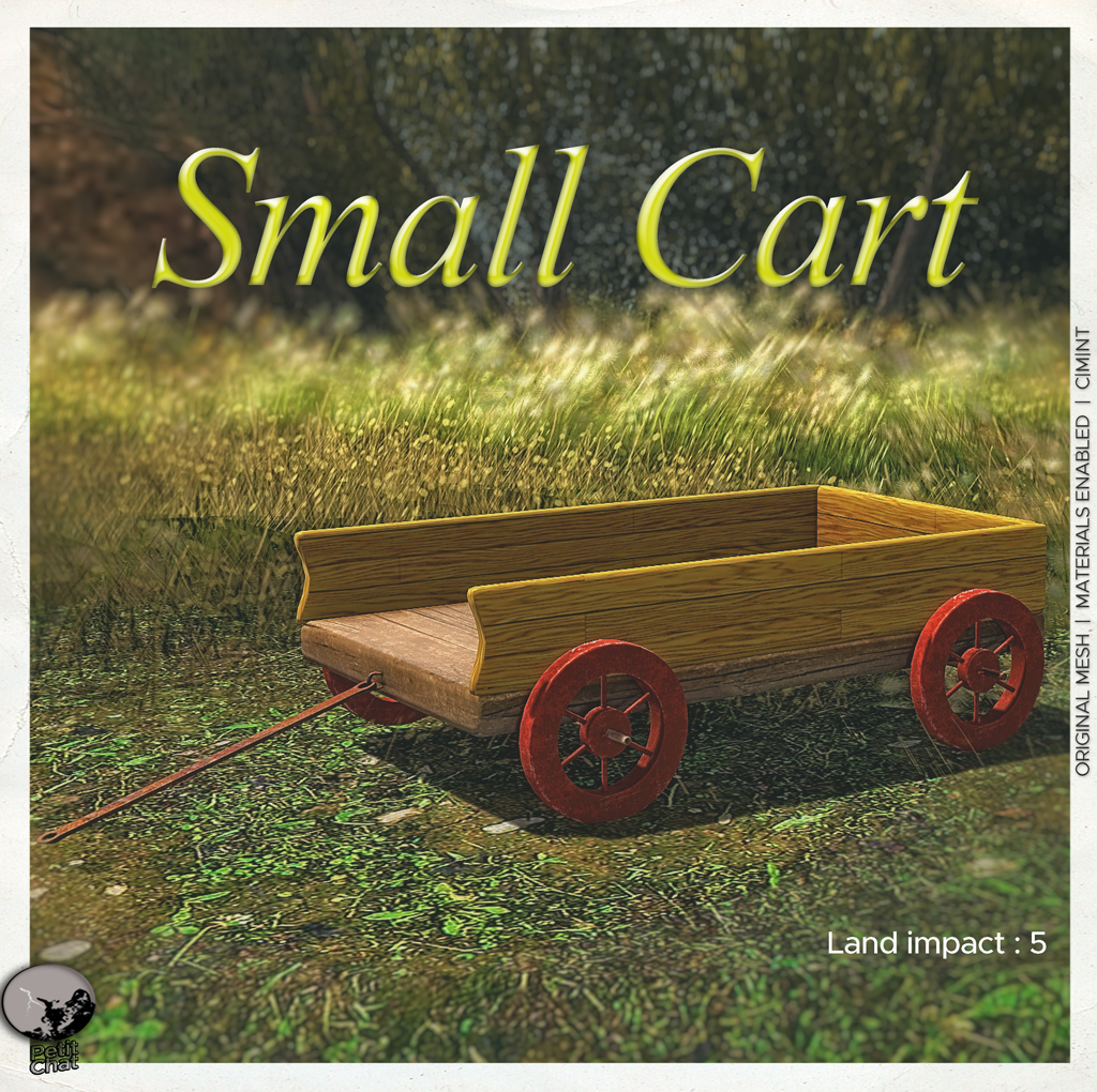 Small Cart : New release and it is group gift in June ! graphic