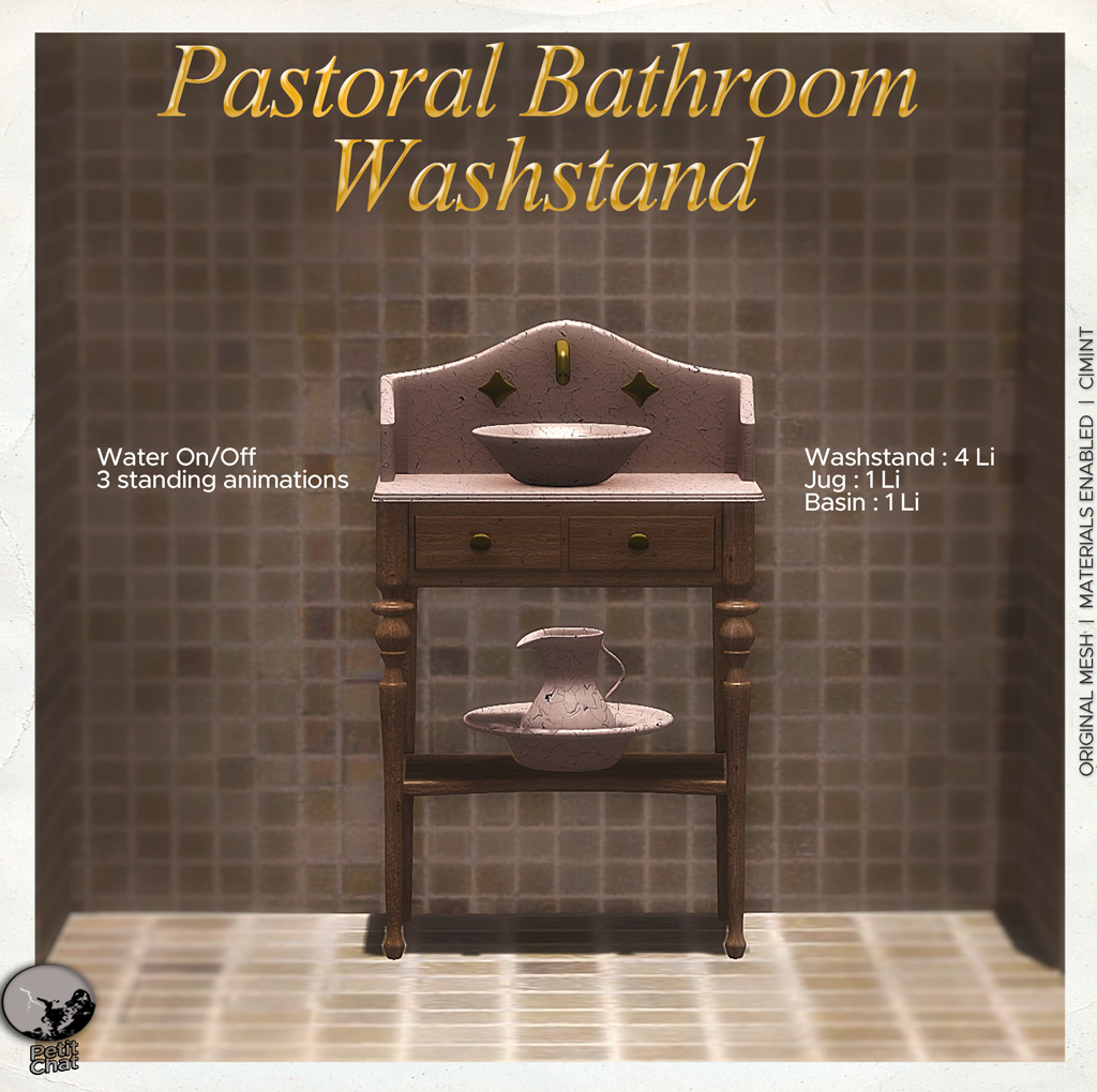 Pastoral Bathroom Washstand @ Uber Hometown graphic