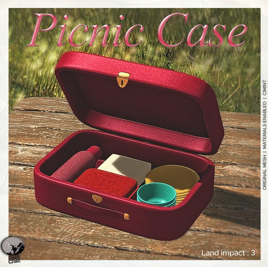 PicNic Case : Exclusive gift for SL18B Shop & Hop event graphic