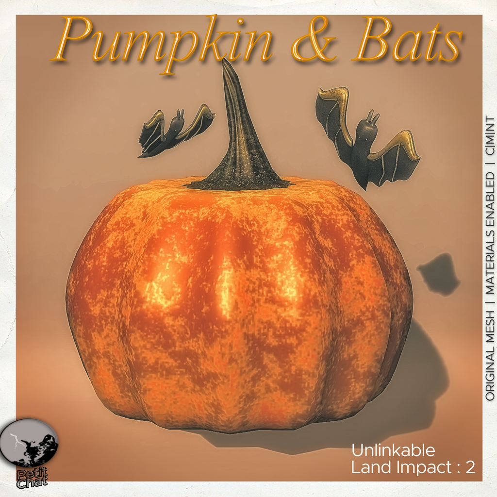 Pumpkin & Bats : New release ! graphic